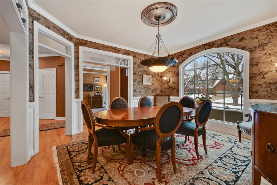 Real Estate Photography - 1221 Millet Street, Naperville, IL, 60563 - DR-formal or informal-it works either way!