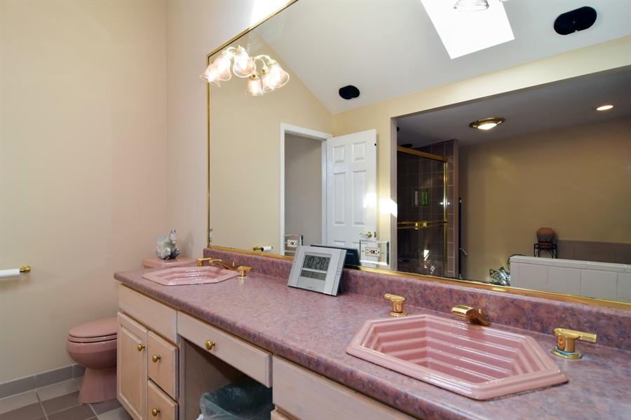 Real Estate Photography - 326 S. Hagans Avenue, Elmhurst, IL, 60126 - Master Bathroom