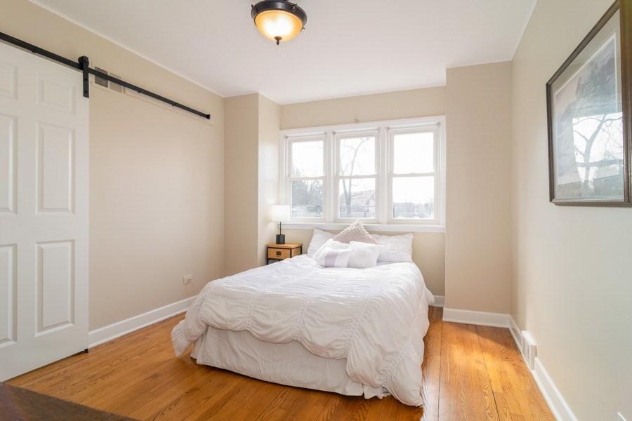 Real Estate Photography - 326 S. Hagans Avenue, Elmhurst, IL, 60126 - 1st floor bedroom