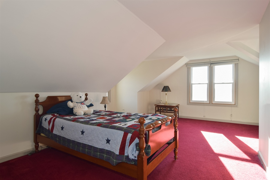 Real Estate Photography - 326 S. Hagans Avenue, Elmhurst, IL, 60126 - 2nd Bedroom