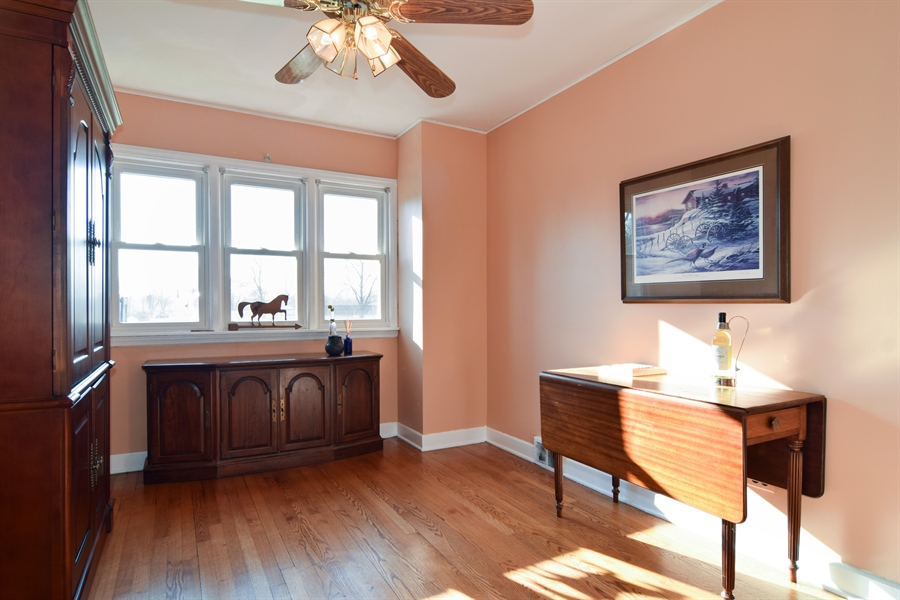 Real Estate Photography - 326 S. Hagans Avenue, Elmhurst, IL, 60126 - Dining Room
