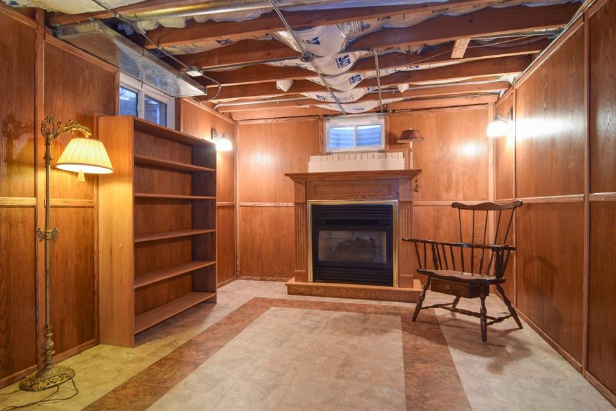 Real Estate Photography - 326 S. Hagans Avenue, Elmhurst, IL, 60126 - Den