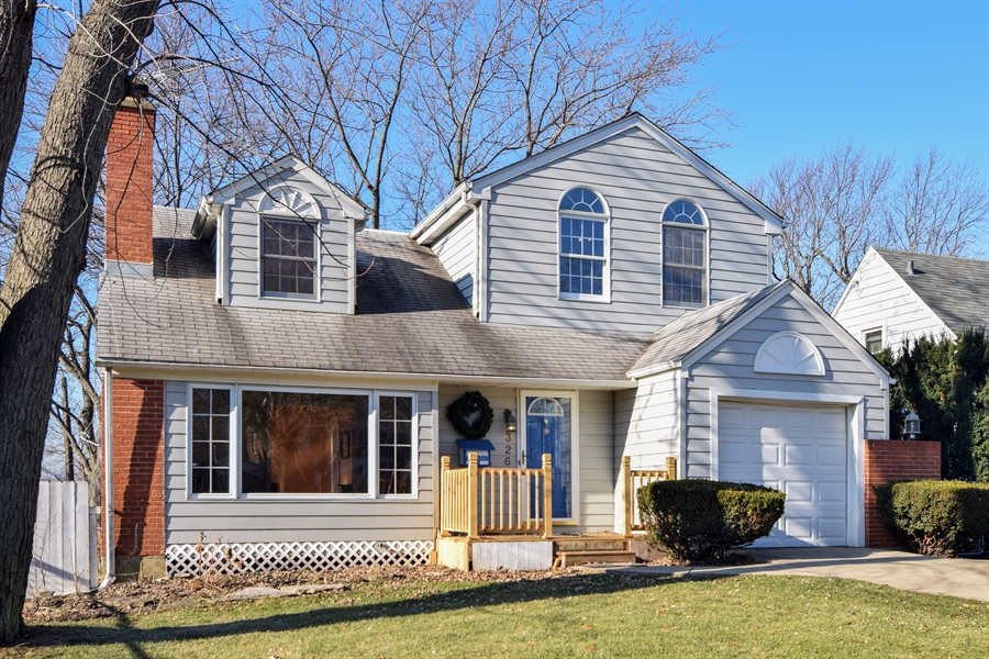 Real Estate Photography - 326 S. Hagans Avenue, Elmhurst, IL, 60126 - Front View