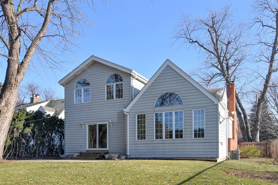 Real Estate Photography - 326 S. Hagans Avenue, Elmhurst, IL, 60126 - Rear View