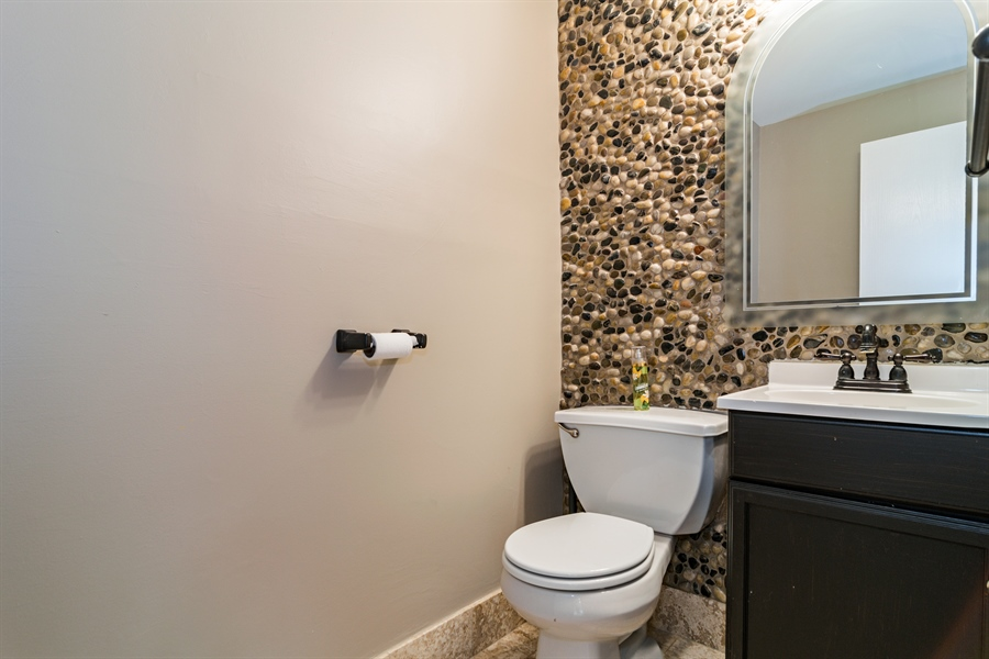Real Estate Photography - 237 Gingerbrook Lane, Bartlett, IL, 60103 - Half Bath