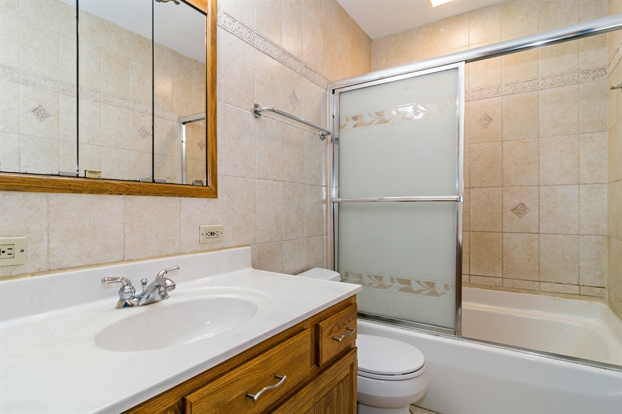 Real Estate Photography - 237 Gingerbrook Lane, Bartlett, IL, 60103 - Bathroom