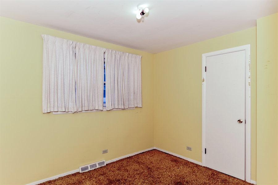 Real Estate Photography - 6638 W. 63rd Street, Chicago, IL, 60638 - 3rd Bedroom