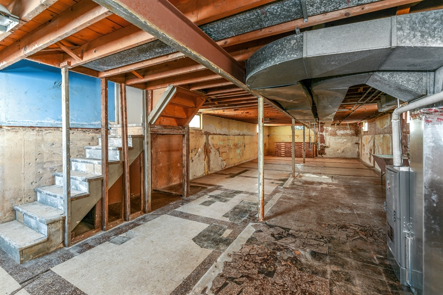 Real Estate Photography - 6638 W. 63rd Street, Chicago, IL, 60638 - Basement