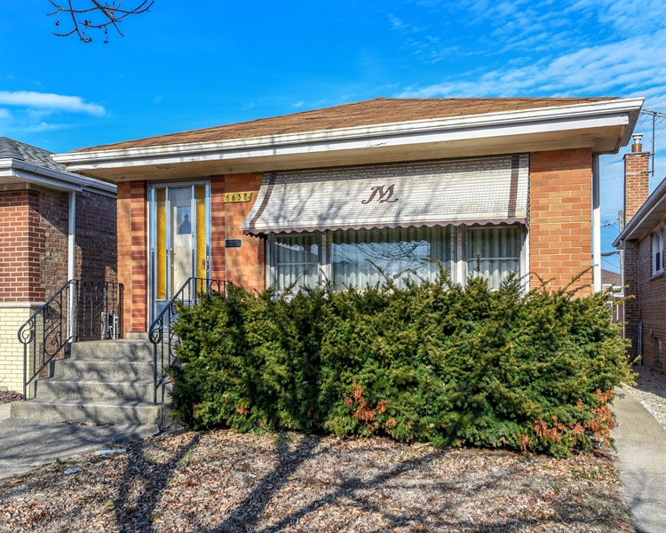 Real Estate Photography - 6638 W. 63rd Street, Chicago, IL, 60638 - Front View