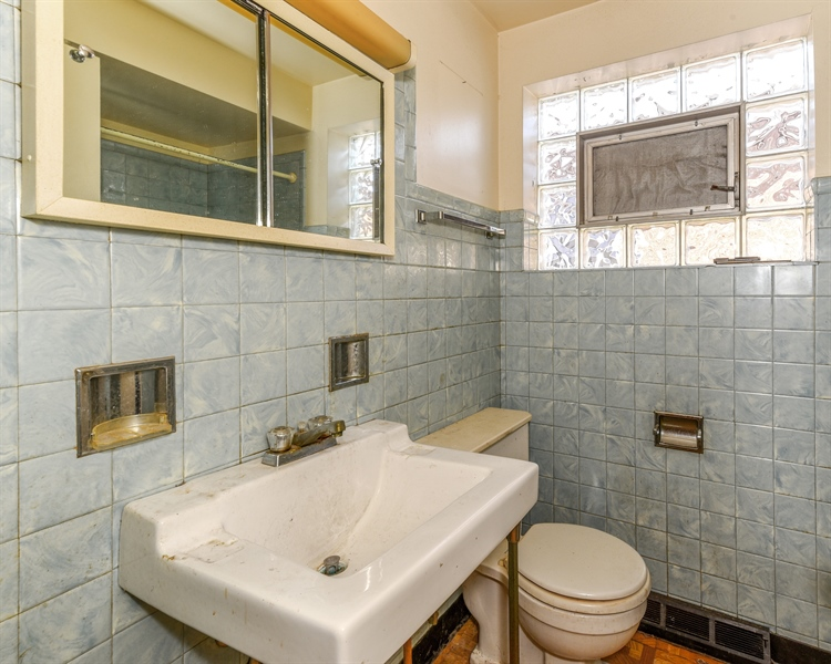 Real Estate Photography - 6638 W. 63rd Street, Chicago, IL, 60638 - Bathroom