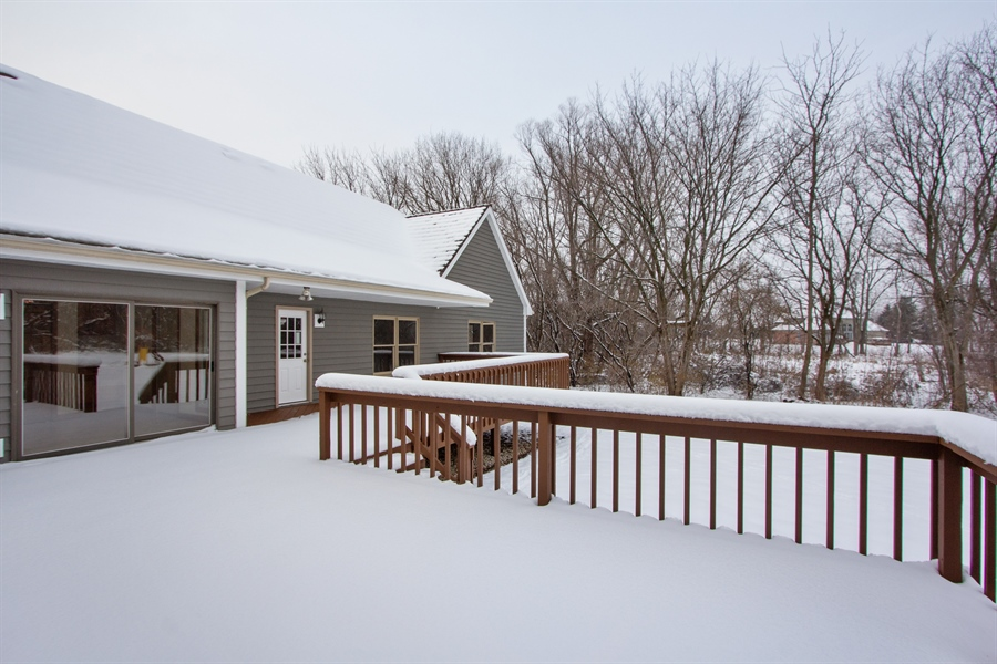 Real Estate Photography - 20324 W BUCKTHORN CT, MUNDELEIN, IL, 60060 - Deck