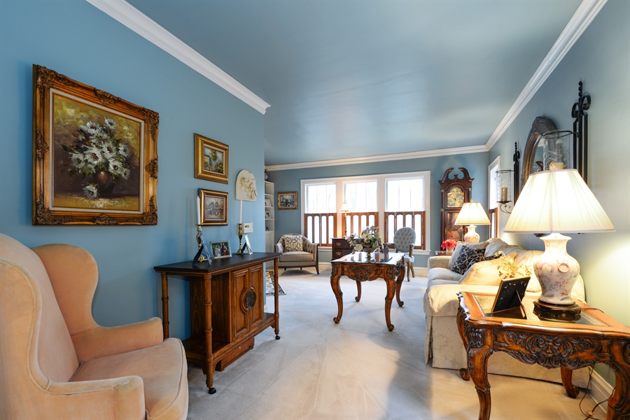 Real Estate Photography - 7339 W. Greenleaf Avenue, Chicago, IL, 60631 - Living Room