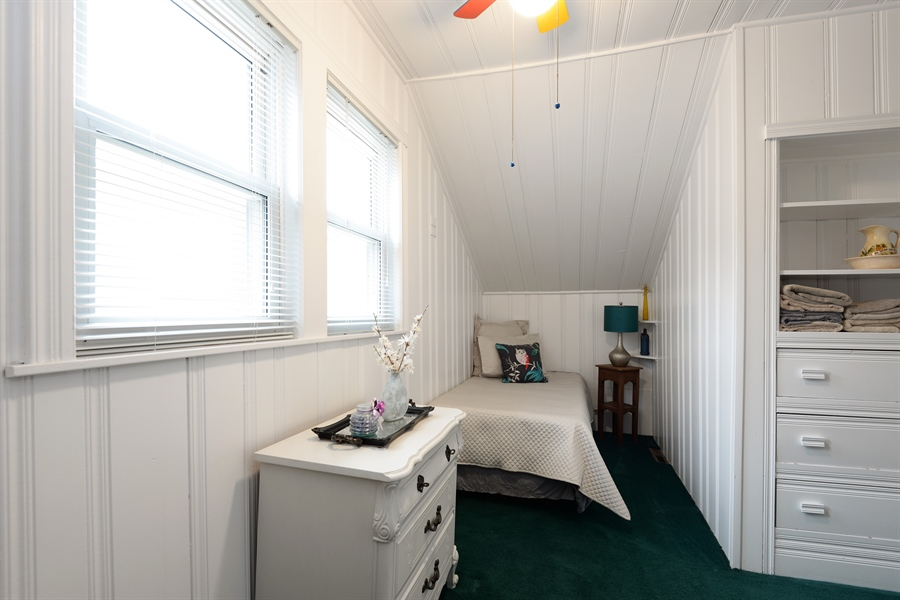 Real Estate Photography - 7339 W. Greenleaf Avenue, Chicago, IL, 60631 - Bedroom 3