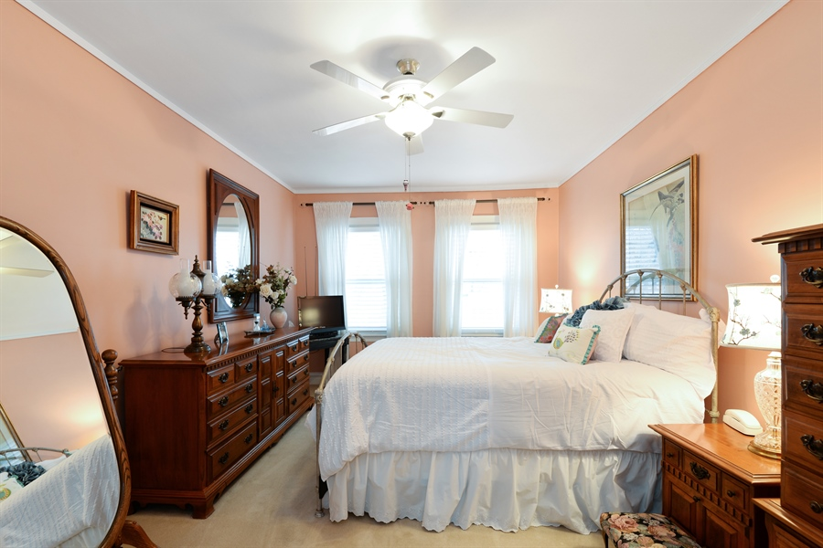 Real Estate Photography - 7339 W. Greenleaf Avenue, Chicago, IL, 60631 - Master Bedroom