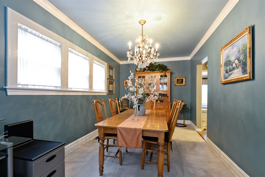 Real Estate Photography - 7339 W. Greenleaf Avenue, Chicago, IL, 60631 - Dining Room