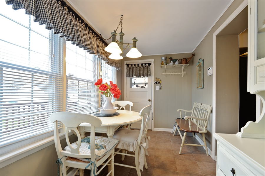 Real Estate Photography - 7339 W. Greenleaf Avenue, Chicago, IL, 60631 - Breakfast Area