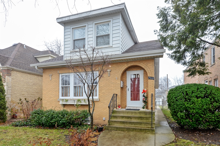 Real Estate Photography - 7339 W. Greenleaf Avenue, Chicago, IL, 60631 - Front View