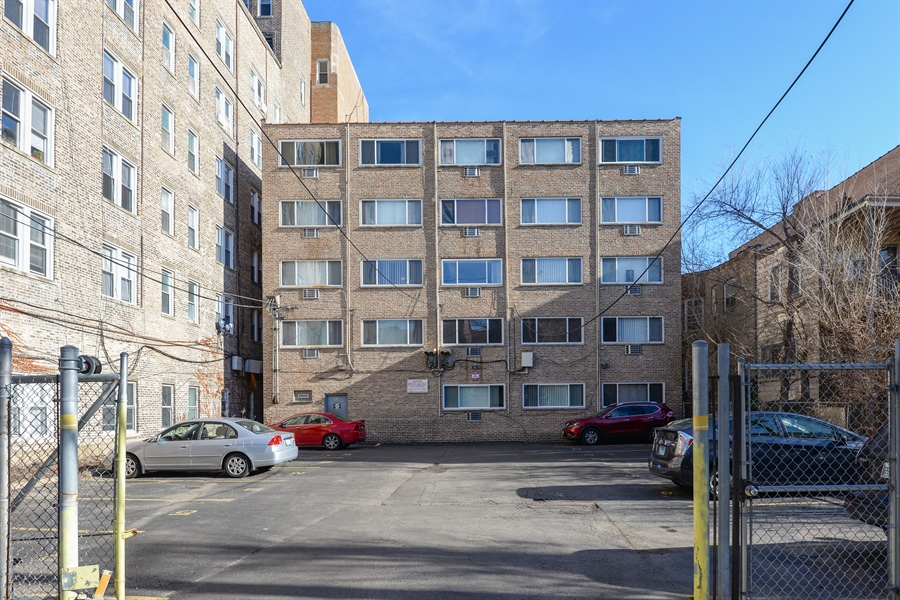 Real Estate Photography - 5854 North Kenmore Ave, Chicago, IL, 60660 - Parking Area