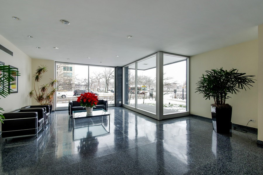 Real Estate Photography - 3440 North Lake Shore Dr, 10C, Chicago, IL, 60657 - Lobby