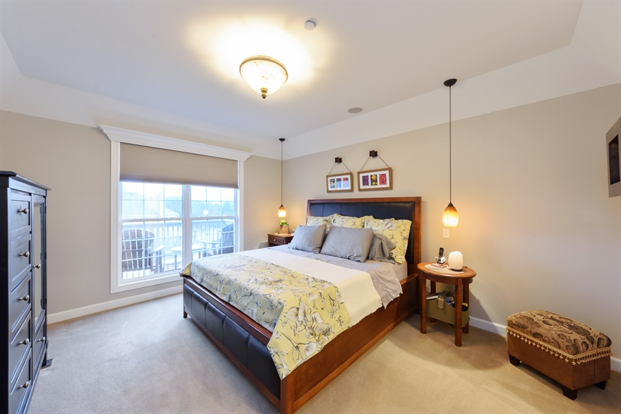Real Estate Photography - 705 Fieldstone Court, Inverness, IL, 60010 - Master Bedroom