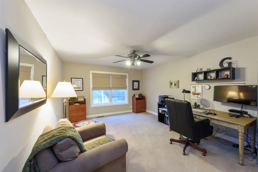 Real Estate Photography - 705 Fieldstone Court, Inverness, IL, 60010 - 2nd Bedroom