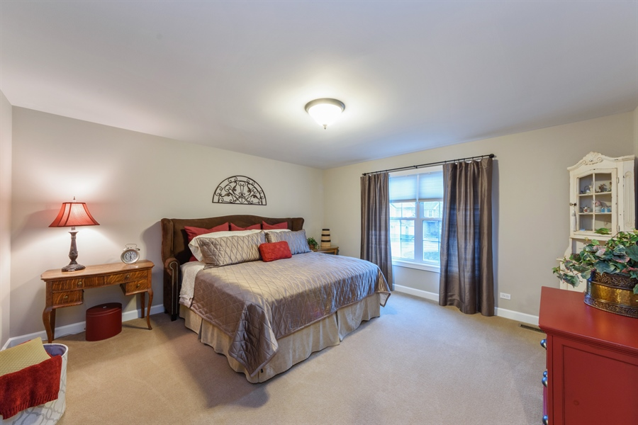 Real Estate Photography - 705 Fieldstone Court, Inverness, IL, 60010 - 3rd Bedroom