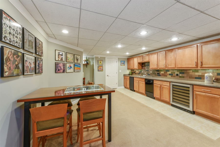 Real Estate Photography - 705 Fieldstone Court, Inverness, IL, 60010 - Lower Level