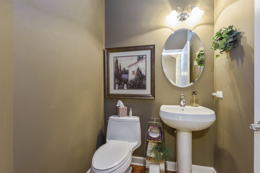 Real Estate Photography - 705 Fieldstone Court, Inverness, IL, 60010 - Powder Room