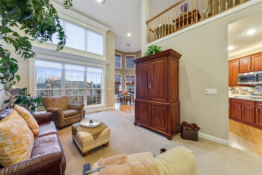 Real Estate Photography - 705 Fieldstone Court, Inverness, IL, 60010 - Family Room