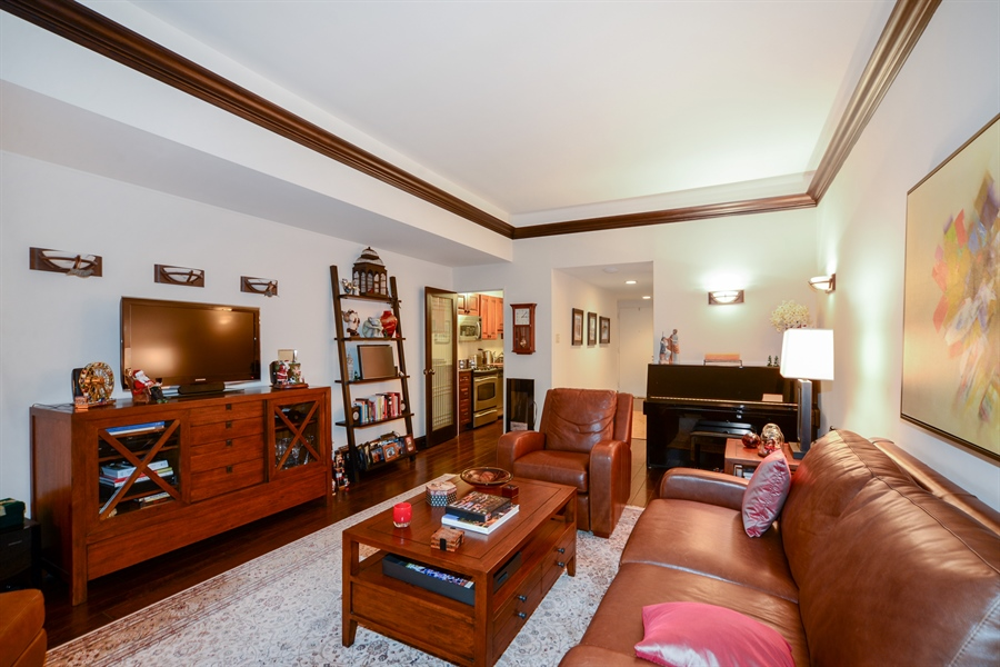 Real Estate Photography - 175 E. DELAWARE Place, Unit 5514, Chicago, IL, 60611 - Living Room