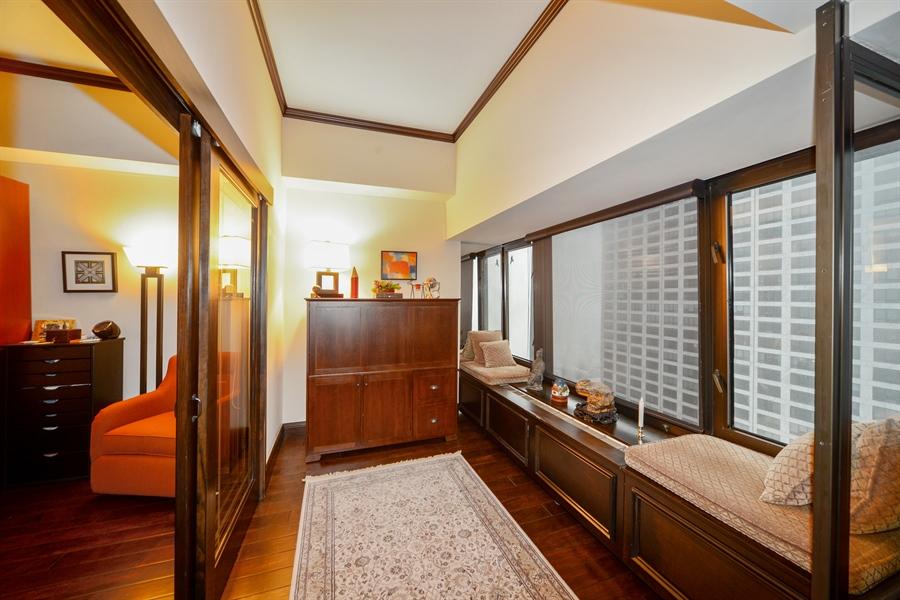 Real Estate Photography - 175 E. DELAWARE Place, Unit 5514, Chicago, IL, 60611 - Den