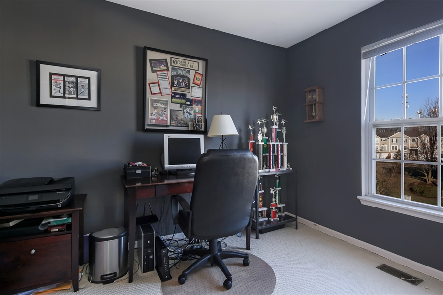 Real Estate Photography - 2293 Hudson Circle, Unit 0, Aurora, IL, 60502 - 3rd Bedroom