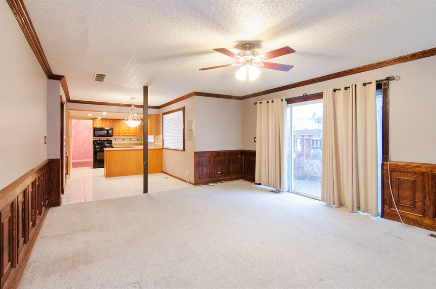 Real Estate Photography - 1255 Leawood Drive, Elgin, IL, 60120 - Family Room