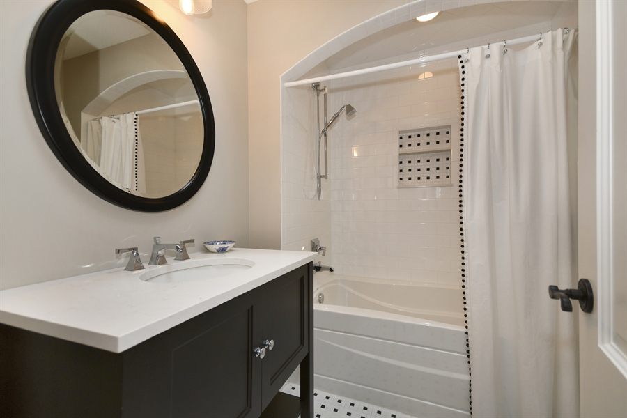 Real Estate Photography - 204 S. 5th Street, Geneva, IL, 60134 - 3rd Bathroom