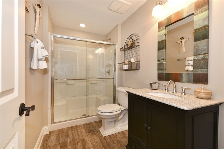 Real Estate Photography - 204 S. 5th Street, Geneva, IL, 60134 - 4th Bathroom