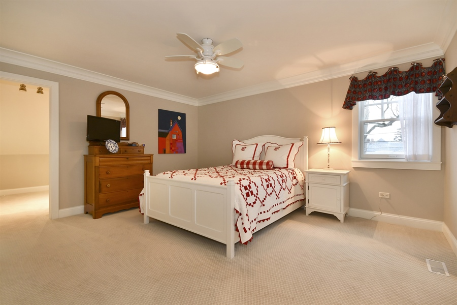 Real Estate Photography - 204 S. 5th Street, Geneva, IL, 60134 - 3rd Bedroom