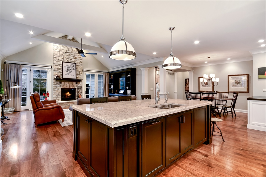 Real Estate Photography - 204 S. 5th Street, Geneva, IL, 60134 - Kitchen
