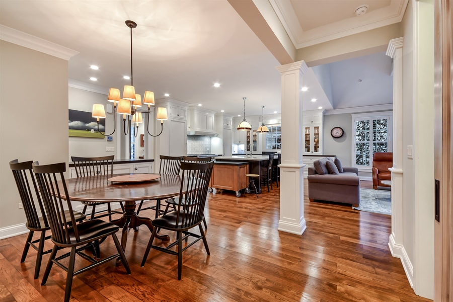 Real Estate Photography - 204 S. 5th Street, Geneva, IL, 60134 - Dining Room