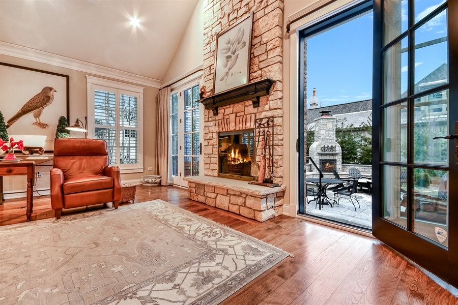 Real Estate Photography - 204 S. 5th Street, Geneva, IL, 60134 - Family Room