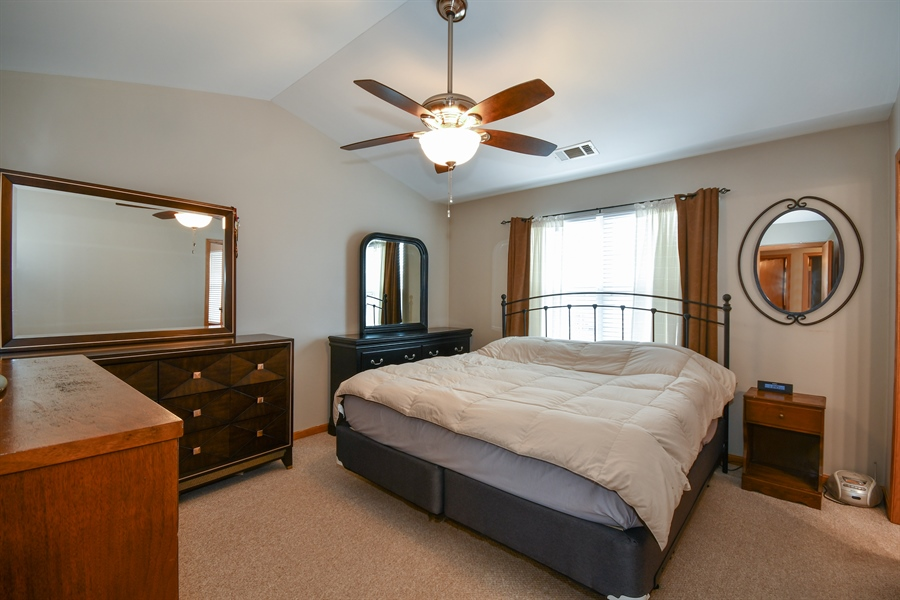Real Estate Photography - 599 Ryegrass Circle, Aurora, IL, 60504 - Master Bedroom