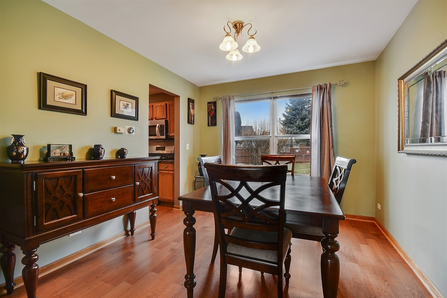 Real Estate Photography - 599 Ryegrass Circle, Aurora, IL, 60504 - Dining Room