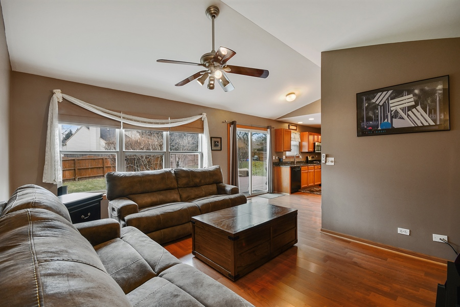 Real Estate Photography - 599 Ryegrass Circle, Aurora, IL, 60504 - Family Room