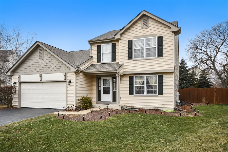 Real Estate Photography - 599 Ryegrass Circle, Aurora, IL, 60504 - Front View