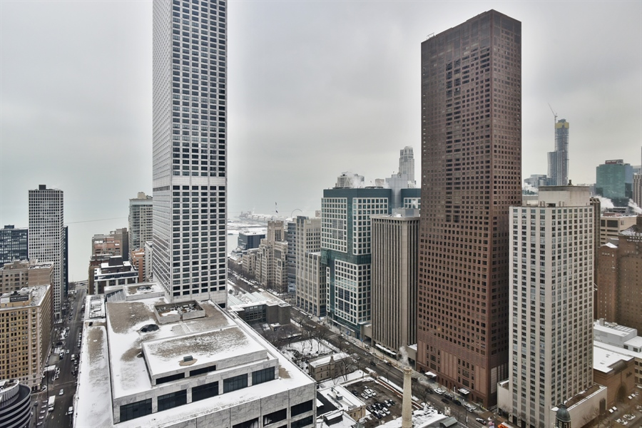 Real Estate Photography - 111 E. Chestnut Street, Unit 43A, Chicago, IL, 60611 - View