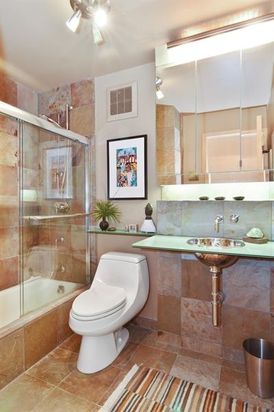 Real Estate Photography - 111 E. Chestnut Street, Unit 43A, Chicago, IL, 60611 - Bathroom