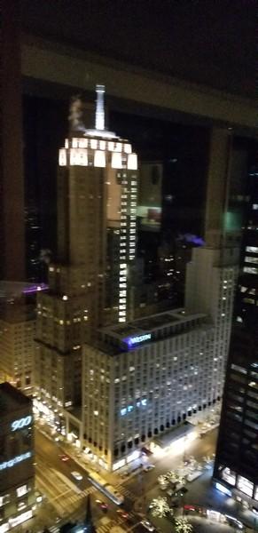 Real Estate Photography - 111 E. Chestnut Street, Unit 43A, Chicago, IL, 60611 - Michigan Avenue -- Night View