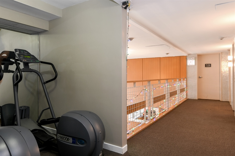 Real Estate Photography - 3033 N. Sheridan Road, Unit 1004, Chicago, IL, 60657 - Gym