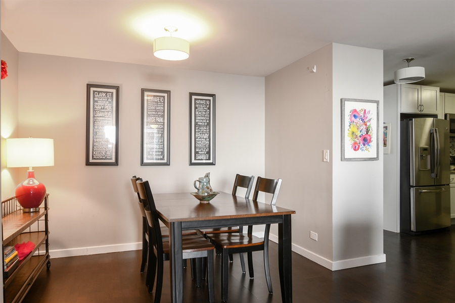 Real Estate Photography - 3033 N. Sheridan Road, Unit 1004, Chicago, IL, 60657 - Dining Room