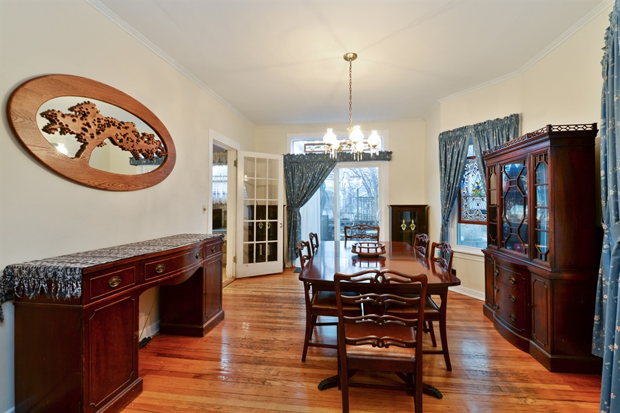 Real Estate Photography - 3815 W. Addison Street, Chicago, IL, 60618 - Dining Room