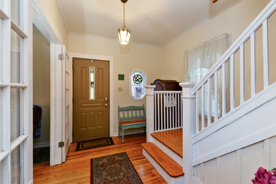 Real Estate Photography - 3815 W. Addison Street, Chicago, IL, 60618 - Foyer